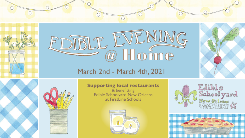 Edible Evening logo and imagery